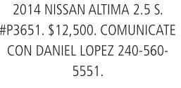 2014 Nissan Altima 2.5 S