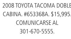 2008 Toyota Tacoma Doble