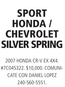 Sport Honda / Chevrolet Silver Spring