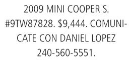 2009 Mini Cooper S.