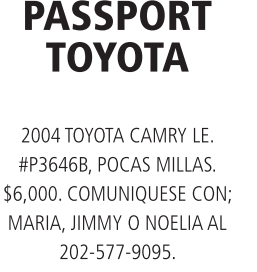 Passport Toyota