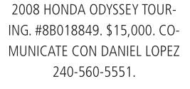 2008 Honda Odyssey Tour