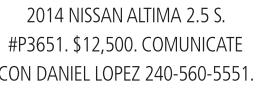 2014 Nissan Altima 2.5 S.