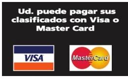 Ud. Puede Pagar Sus Calificados Con Vida O Master Card