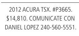 20012 Acura TSX