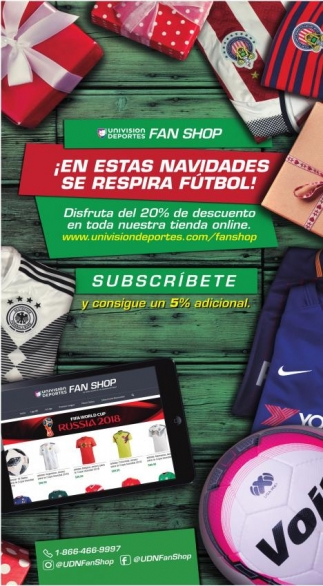 ¡ En Estas Navidades Se Respira Fútbol!