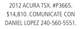 2012 Acura TSX.