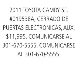 2011 Toyota Camry SE