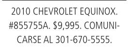 2010 Chevrolet Equinox.