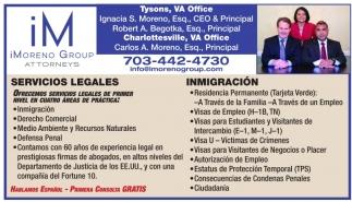 Servicios Legales - Inmigración
