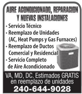 Aire Acondicionado, Reparacion y Nuevas Instalaciones