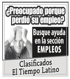 El Tiempo Latino - Clasificados