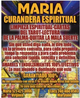 Maria Curandera Espiritual
