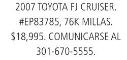 2007 Toyota FJ Cruiser.