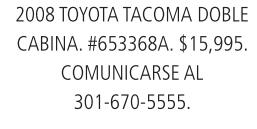 2008 Toyota Tacoma Doble Cabina