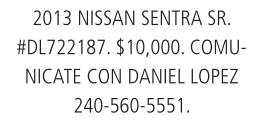 2013 Nissan Sentra Sr.