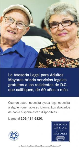 La Asesoria Legal para Adultos Mayores Brinda Servicios Legales Gratuitos