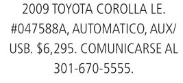 2009 Toyota Corolla LE.