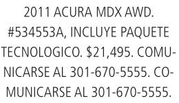 2011 Acura MDX AWD.