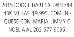 2015 Dodge Dart SXT. #P3789