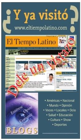 Y ya visitó www.eltiempolatino.com