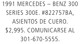 Mercedes Benz 300 1991