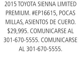 Toyota sienna limited premium 2015