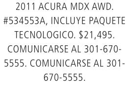 Acura MDX AWD 2011