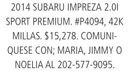 Subaru impreza 2.01 Sport premium 2014
