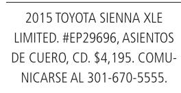 Toyota camry2015 Toyota Sienna