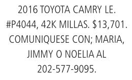 2016 ToyotaCamry LE
