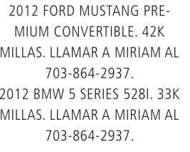 2012 Ford Mustang Premium