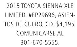 2015 Toyota Sienna XLE
