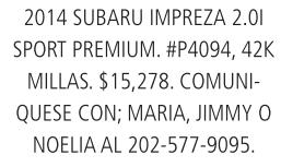 2014 Subaru Impreza 2.0l Sport Premium