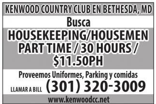Housekeeping/Housemen
