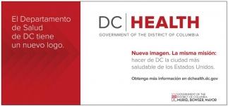 El Departementode Salud de DC Tiene un Nuevo Logo