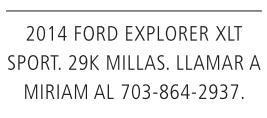 2014 Ford Explorer XLT Sport