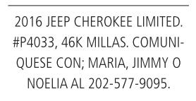 2016 Jeep Cherokee Liited