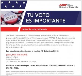 Tu Voto es Importante