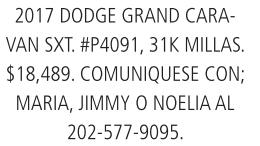 2017 Dodge Gran Caravan SXT
