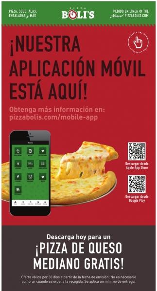 ¡Nuestra Aplicación Móvil Esta Aquí!