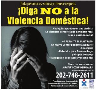 Diga NO a la Violencia Domestica