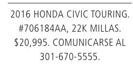 2016 Honda Ciciv Touring