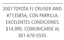 2007 Toyota FJ Cruiser 4WD