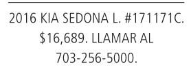 2016 KIA Sedona L.