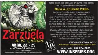 Maria & Cecilia Zarzuela a la Cubana