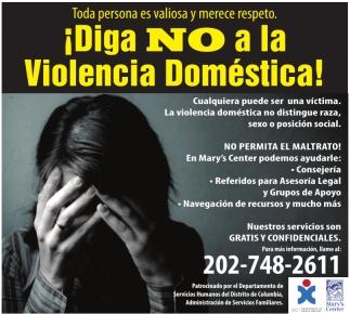 ¡Diga NO a la Violencia Domestica!
