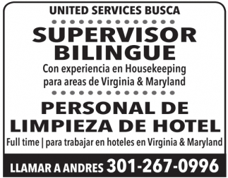 Supervisor Bilingue