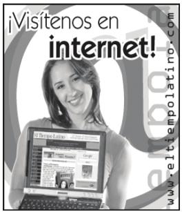 ¡Visitnes en internet!