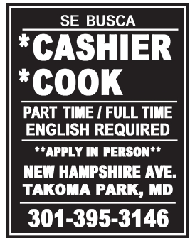 Cashier/Cook